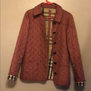 Pink Burberry Jacket